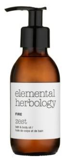Elemental Herbology Fire Zest Bath Body Oil, 5 fl oz