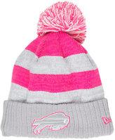 New Era Women's Buffalo Bills NFL 2016 Breast Cancer Awareness Sport Knit Hat