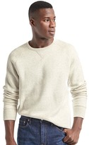 Gap Supersoft double-knit crew sweatshirt