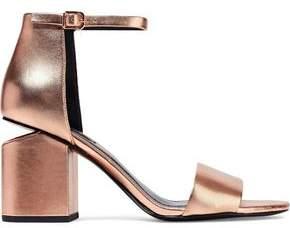 Alexander Wang Abby Metallic Leather Sandals