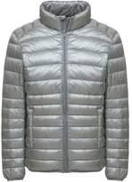 Wantdo Men's Packable Stand Collar Light Weight Short Down Jacket