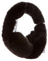 Glamour Puss Glamourpuss Rabbit Fur Ear Muffs w/ Tags