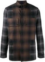 Helmut Lang plaid cotton shirt