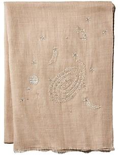 Janavi India Galaxy Woven Wool & Silk Stole - 100% Exclusive