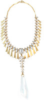 Elizabeth Cole Selima Necklace Gold