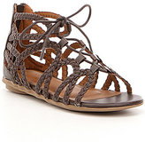 Kenneth Cole Reaction Girls' Bright Braids Ghillie Sandals