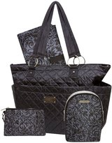 Wendy Bellissimo Quilted Tote - Black