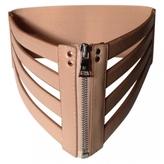 BCBGMAXAZRIA Beige Leather Belt