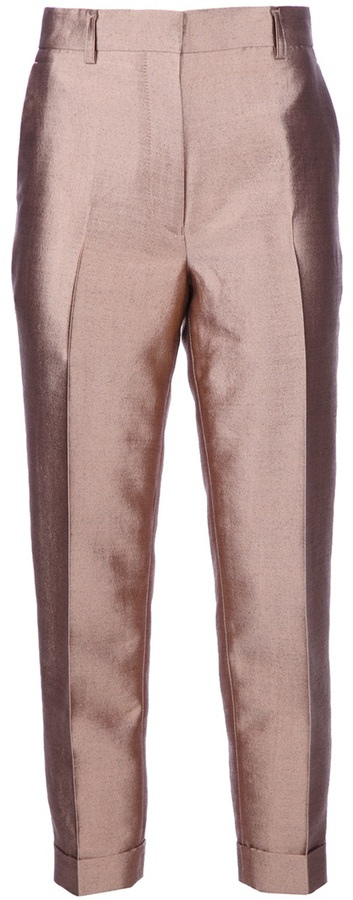 Haider Ackermann metallic trouser