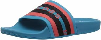 Marc Jacobs Women's Cooper Webbing Aqua Slide Sandal