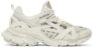 Balenciaga Off-White Track.2 Open Sneakers