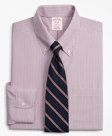 Brooks Brothers Madison Classic-Fit Dress Shirt, Non-Iron Bengal Stripe