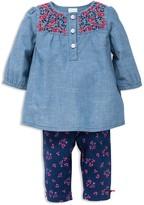 Little Me Girls' Floral Tunic & Pants Set