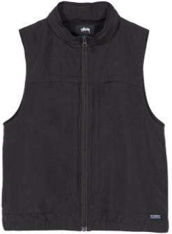Stussy Medium Black Multi Function Vest - m