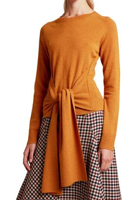 J.W.Anderson Wool Tie-Waist Sweater