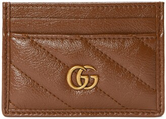 Gucci GG Marmont matalsse card case