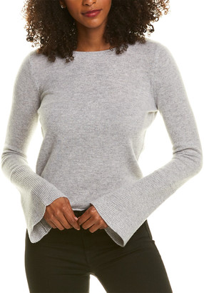 Magaschoni Bell-Sleeve Cashmere Sweater