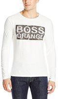 HUGO BOSS BOSS Orange Men's Turnaround 4 Long Sleeve Tee with Logo