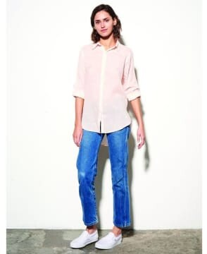 Thumbnail for your product : Sundry Pink Hearts Shirt - S
