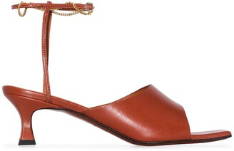 MANU Atelier Athena 50mm leather sandals