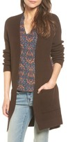 Hinge Women's Cross Back Longline Cardigan