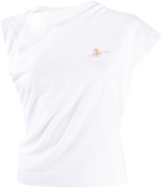 Vivienne Westwood asymmetrical sleeveless T-shirt