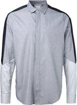 Wooyoungmi contrast shirt - men - Cotton - 44