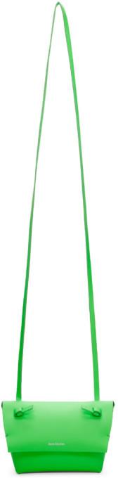 Acne Studios Green Mini Purse Bag