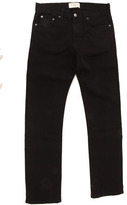 Simon Spurr Pipe Leg Black Denim