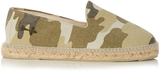 Manebi Dakar camouflage-print cotton-canvas espadrilles