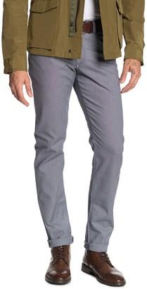 "Brax Two Tone Effect Straight Leg Pants - 34"" Inseam"