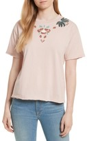 Rebecca Minkoff Women's Ronnie Embroidered Tee