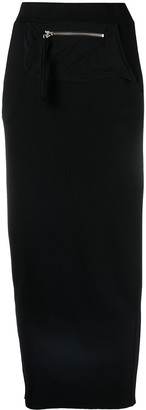 Thom Krom Long Stretch Pencil Skirt