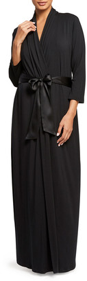 Fleurt Long Jersey Robe