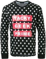 GUILD PRIME polka dot sweater