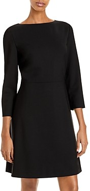 Theory Kamillina Stretch-Wool Dress