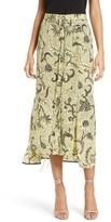 Diane von Furstenberg Women's Silk Midi Skirt