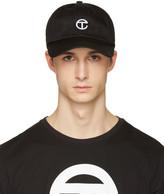 Telfar Black Logo Cap
