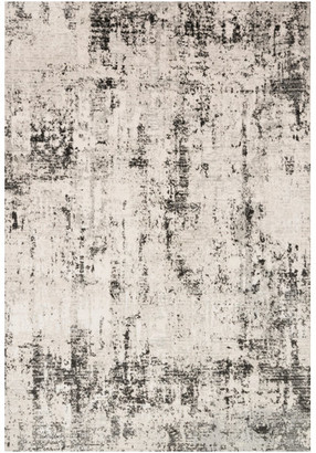 Loloi Silver Graphite Shed Free High Low Pile Alchemy Area Rug by II,