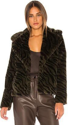 Sanctuary Wild Night Faux Fur Jacket