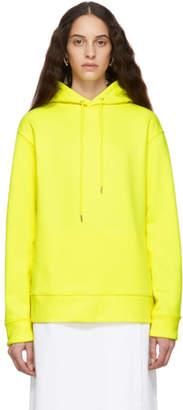 A Plan Application A-Plan-Application Yellow Oversized Hoodie