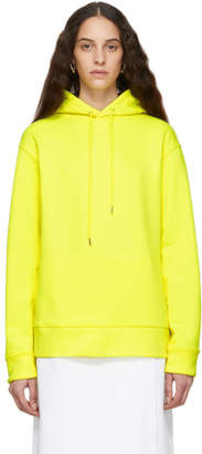A-Plan-Application Yellow Oversized Hoodie