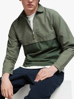 Les Basics Sports Pull Over Shirt Jacket, Sage