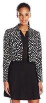 Kasper Women's Dot Printed Jacket