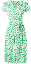 P.A.R.O.S.H. star print wrap dress - women - Silk/Spandex/Elastane - S