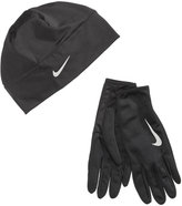 Nike Dri-fit Running Beanie & Gloves Set