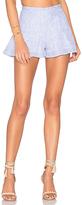 Karina Grimaldi Alma Linen Shorts
