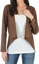 Wrangler Faux-Suede Printed Jacket (For Women)