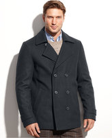 Calvin Klein Men's Wool Blend Peacoat