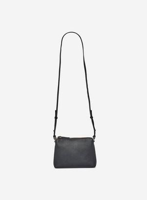 Dorothy Perkins Womens Black Zip Top Cross Body Bag, Black
